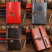 Originalité Looth feuille Notebook Retro Bandaged Petit livre Multicolour Kraft Papiers Livres de voyage Excquisite Fournitures de bureau 5 6LQ E2