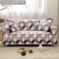 Fundas de sofá seccional universal para fundas de sofá para sala de estar Reposabrazos Silla Sofá de esquina angular Estilo escandinavo