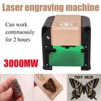 탁상용 3000mw 레이저 조각 기계 포지셔닝 정확도 0.05mm 새기는 펜 휴대용 그림 기계