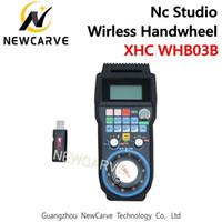 XHC WHB03B NC Studio CNC Handwiel Draadloze NC Studio MPG Hanger Handwiel voor Frezen Machine 3 Axis NewCarve