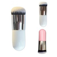 Neue Chubby Pier Foundation Brush Flachcreme Make-up Pinsel rofessional Kosmetik Make-up Pinsel Foundation Pinsel Puderpinsel Dropshipping