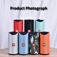 Speakers TG113 Altifalante Mini Bluetooth sem fio Subwoofers Handsfree Chamada Perfil Stereo Baixo Baixo Suporte TF USB Cartão AUX Line In Hi-Fi
