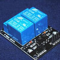Hoogwaardige 2-kanaalsrelaismodule Relais Expansion Board voor Arduino 5V Laag niveau Getriggerd 2-weg relaismodule B00562
