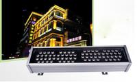 72W 1m LED 벽 세탁기 프리 라이트 AC 24V AC 85V 265V 옥외 조명 벽 선형 램프 투광 조명 100cm Wallwasher