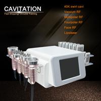 Nuovo modello 40K Ultrasuoni Liposuzione Cavitazione 8 Pads Laser Vacuum RF Skin Care Salon Spa Attrezzature per la bellezza della macchina dimagrante