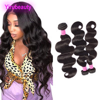 Brazilian Virgin Hair Extensions 100% Human Hair 3 Bundles B...