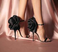 حار بيع الصيف فراشة كبيرة عقدة أحذية الكعب الكاحل الشريط OL حزب مضخة مثير أحذية الزفاف حجم 35-40