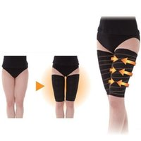 2Pcs Нога для похудения бёдер Пояс для похудения Упругие тела Shaper Stretch Wrap