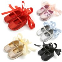 Toddler Baby Girls Soft Sole Solid Leather Single Shoes Anti...