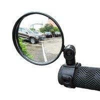 1 Pieces bicicleta ajustável Espelho Retrovisor MTB Estrada Ferramenta de segurança de bicicleta guiador Voltar Eye Ciclismo espelhos retrovisores Acessórios