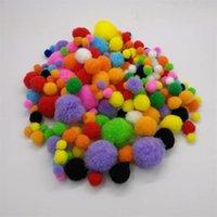 nuova multicolore steli di ciniglia dei pulitori di tubo a mano di arte di DIY Crafts Materiale per bambini Creatività artigianato Giocattolo dei bambini