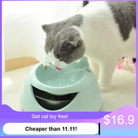 Automatic Luminous Pets Water Fountain for cats Fountain dog...