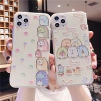 Creative cartoon corner creature embossed mobile phone case ...