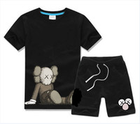 شارع سمسم طفل بنين وبنات مصمم القمصان والسراويل بدلة رياضية العلامة التجارية 2 أطفال مجموعة ملابس حار بيع الأزياء الصيفية للأطفال