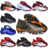 bdf84910c0 Original 2019 SX futebol Sapatos Acelerador Predator Eletricidade 18 + x  Pogba FG Acelerador Homens Mercurial