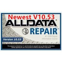 2020 chaud logiciel de réparation automatique alldata 10,53 TOUTES LES DONNÉES logiciel de données de réparation de voiture avec disque dur de 750 Go pour la plupart des véhicules automobiles alldata logiciels
