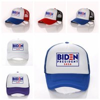 Joe Biden Hut Kult 2020 amerikanische Präsident Wahl Baseballmütze Sticken Brief Baseballmütze Einstellbare Hysteresen-Hut VT1502
