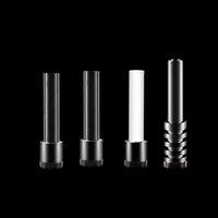 Стеклянные трубы Советы для ногтей для нагруженных микро стекловые трубы 510 GR2 Titanium кварцевый керамический гвоздь