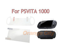 Для PSV1000 Закаленное Ясное Full HD Защитная пленка для экрана Защитная пленка Guard HD устойчивый к царапинам Psvita PS Vita PSV 1000