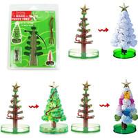 Faroot الوظيفي ماجيك تزايد شجرة لعبة بنين فتاة كريستال متعة عيد الميلاد لطيف هدية عيد الميلاد الجورب حشو