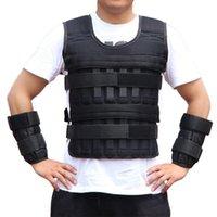 Nuovi 20kg Weighted Vest regolabile Peso di caricamento Giacca Esercizio Weightloading Vest Boxe Training Gilet TY66