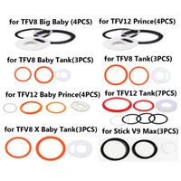 Smok TFV12 Prens TFV12 Bebek prens TFV8 Bebek TFV8 X-bebek TFV8 Büyük Bebek Tank Silikon O Yüzük