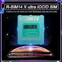 Oryginalny odblokowanie R-SIM 14X RSIM14 RSIM14 dla iPhonexs Max, XR, XS, X, IOS12.212.3 z menu Pop-up