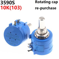 3590S 10K 103 Precision Multiturn Potentiometer Resistência ajustável