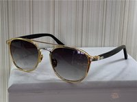 Occhiali da sole Design di moda 0012 Retro Round K Gold Frame Trend Avant-garde Style Protection Eyewear Top Quality con scatola