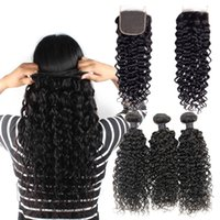 Brazilian Virgin Human Hair Bundles Water Wave Hair Remy Hum...
