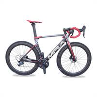 دراجات RD525 ايرو القرص الطريق الكربون إطار الدراجة كاملة R8050 DI2 2 * 11S 49،52،54،56،58CM المنتجات OEM دراجة كاملة
