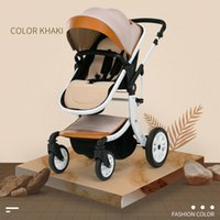 Free shipping Luxury Baby Carriage High Landscape Can Sit Fo...