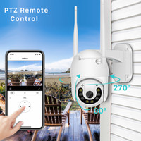 2mp Outdoor Wifi IP Camera 1080P Color Night Vision PTZ Camera Onvif TF Card Cloud Storage Speed Dome security camera V380