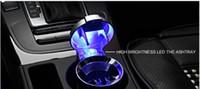Auto-Aschenbecher LED-Leuchte mit Abdeckung innen Aschenbecher Autobedarf