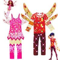 3-10 سنة ملابس الأطفال مجموعات الفتيان ازياء تأثيري هالوين أطفال بنات MIA AND ME حفلة عيد ميلاد كرنفال مضحك الملابس
