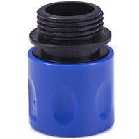 Wegarden Adattatore per tubo flessibile elastico Connettore Spray Appliance Adattatore per tubo flessibile elastico da giardino Il connettore è un connettore rapido semplice e pratico per tubo flessibile