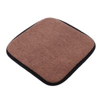 Non Slip Memory Foam Cotton Brown Office Kitchen Chair Cushion Dining Chair Pads Durable, Long Lasting