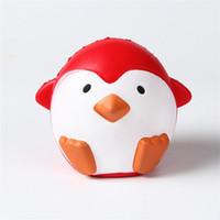 Rebote lento brinquedo PU descompressão Squishy alegre humor adorável crianças brinquedos crianças simulação pinguim forma novo produto