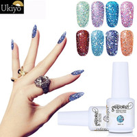 Diomand Colore Gel UV Nail Vernice 15ml Soak Off Nail Gel Polish Lunga durata Bling Color Gel Smalto per unghie per fai da te