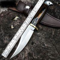 Горячо! Тактический нож армейский фиксированный клинок охотничьи ножи Рэмбо деревянная ручка военный боевой нож самообороны лагерь EDC высокое качество
