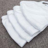 tres capas más nuevas de algodón máscara blanca cara, a prueba de polvo, máscara de tela de algodón, transpirable, a prueba de sol, y la neblina Diseñador prueba de máscara 6059