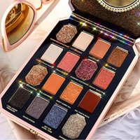 Nouvelle palette de maquillage Face Pretty Rich 16colors Palette de fard à paupières Diamond Eye Shadow Livraison de haute qualité par DHL