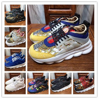 Lo nuevo 2 Chainz Chain Reaction Sneakers para hombre Cross Chainer Sneakers Fashion Luxury Designer Women Shoes Outdoor Trainer Running Casual Shoes