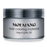 волосы воск высокого качества Mofajang для укладки волос Mofajang помада Сильного стиля восстановление помада воск Большого скелет Slicked