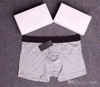 6 Renkler Medusa Baskı Erkekler İnce Seksi İç Giyim Erkek Yüksek Kalite Boksörler Saf Pamuk Nefes Külotlar Mens Casual özetleri