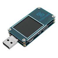 Medidor de color Freeshipping ZY1276 QC3.0 PD de carga rápida Dragon USB Corriente y probador de capacidad de voltaje