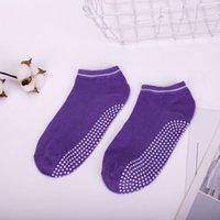 Sports Socks ladies candy color Yoga socks anti- slip movemen...