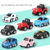Вытащить автомобиль мини-сплав строительный автомобиль машиностроительный автомобиль самосвал автомобиль самосвал модель классическая игрушка мини лучший подарок 2512