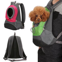 الناقل الحيوانات الأليفة القط / الكلب على ظهره الناقل جرو حقيبة السفر يخرج مبطن الكتف حقيبة الكلب جبهة الحيوانات الأليفة حقيبة للشركات الصغيرة الكلب القطط