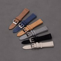 atches Accessories Watchbands EACHE Suede Watch Leather Band...